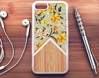 Wood Floral iPhone 7 Case floral iPhone 6s Case iPhone 6 Plus Case iPhone 6s Plus Case iPhone 5s Case Floral iPhone SE Case iPhone 5c Case