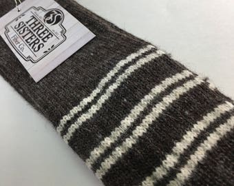 3S MN Boot Sock...locally grown, processed and machine knit in MN & WI.  Alpaca, wool and nylon.