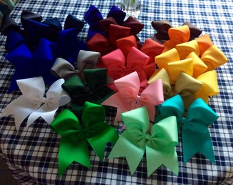 Cheer Bows - made in the USA - team bow - classic bow -  custom bow - cheerleader gift