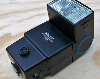 Vivitar Auto Thyristor 3700 35mm Shoe Mount Flash