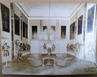 Vintage 1920 Niesweiz (Niesvich) Castle Original Photo - Body Armor - Belarus - Poland