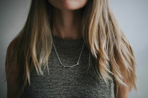Twig in Sterling Silver