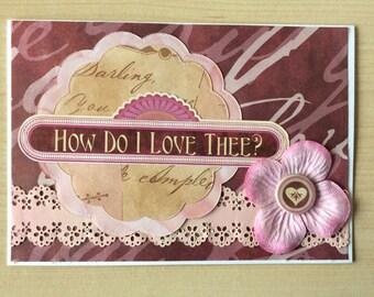 Love Card Valentines