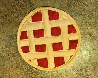 Quilted Pie PotHolder