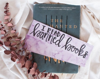 I Read Banned Books Bookmark