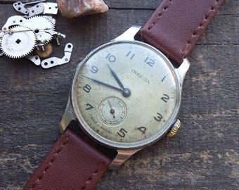 Mens watches 1952, vintage watch, Pobeda watch, wrist watch for men, watches for men, vintage watches, mechanical watch