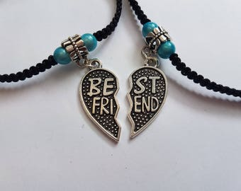 Best friend anklet - best friend charms - anklet - ankle bracelet - friendship anklet - best friend - best friend gift - body jewelry