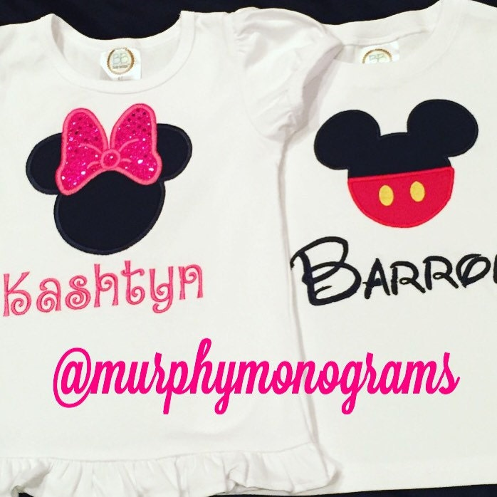 Minnie Mouse Or Mickey T Shirt For Toddler Boys Or Toddler