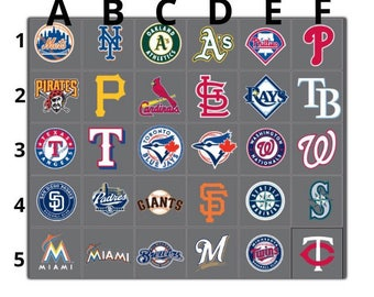 All MLB Baseball Logos Vinyl Decal Many Sizes Available Buy 2 get 1 free of equal or lesser size!