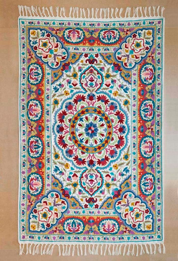 Mandala Rugfloral Area Rugs 4x6 Area Rug Cool By Carpetism