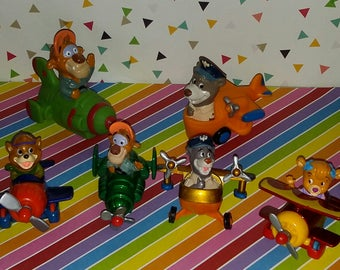 Vintage Lot of 6 McDonald's Disney Afternoon Tailspin Toys