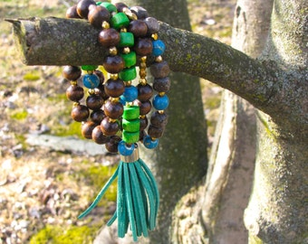 Fringe Bracelet Stack