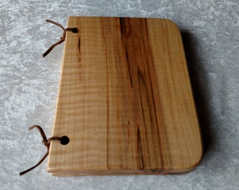 Wedding registry, wedding guest book, baby shower registry, gift registry, wedding jourmal, Maple