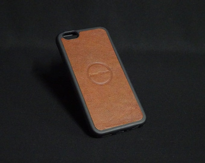 Jimmy Case - Fits Apple iPhone 6 6S - Natural Brown - Kangaroo leather - Handmade - James Watson