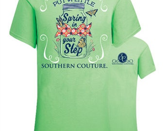 Put a Little Spring in Your Step, Southern Couture