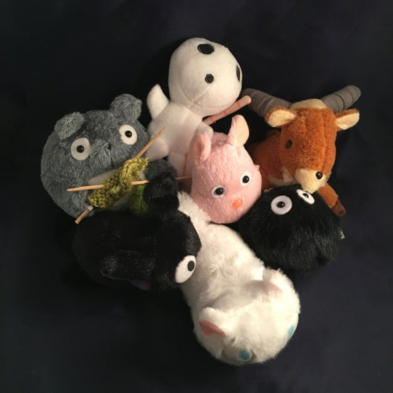 Studio Ghibli Soft Plush Stuffed Quality 6 Small Toy