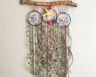 Wall decor - beachy boho dream branch