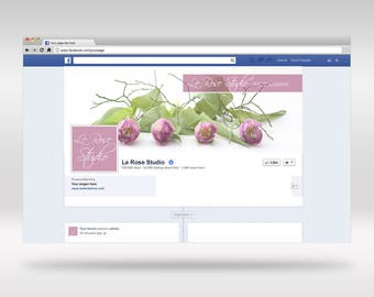 Facebook Header and profile Kit download editable PSD file