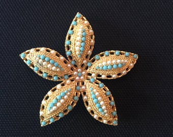 Vintage Sarah Coventry Starfish Brooch