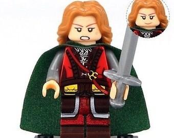 Eowyn Custom figurine 100 % Compatible Lego! Seigneur des anneaux le Hobbit