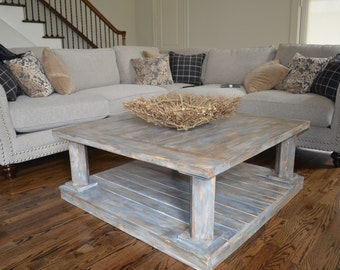 Double Decker Coffee Table