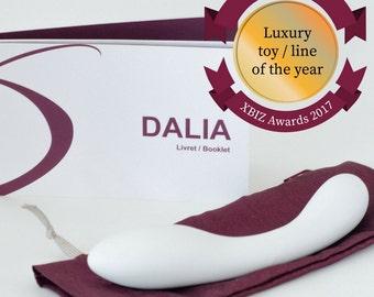 DALIA - Intimate Explorer - Luxurious Porcelain Dildo for adult
