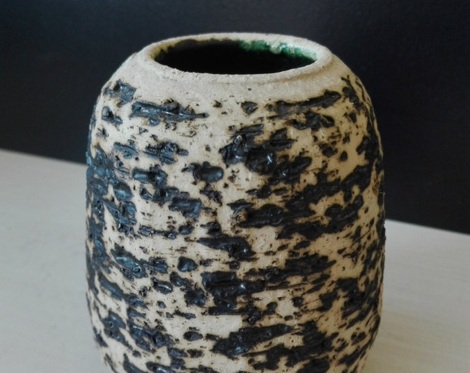 Birch Bark pattern flower vase