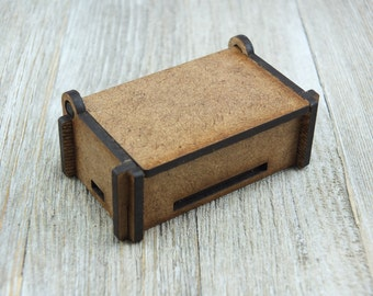 2.4 x 1.2 puzzle box, short top
