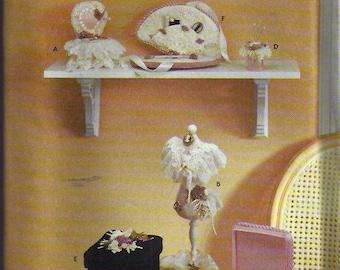 Victorian Sewing Accessories Paterns - Patron d'accessoires de couture victorienne - Simplicity no 7079
