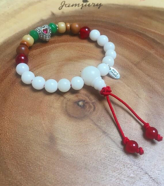 Valentine Love Girlfriend Gift Mala Spiritual Heart Gemstone