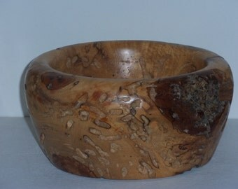 Pecky Spalted Pecan Bowl
