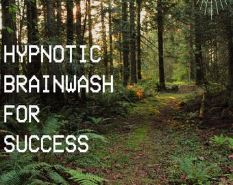 Hypnotic Brainwash For Success (Audio Download)