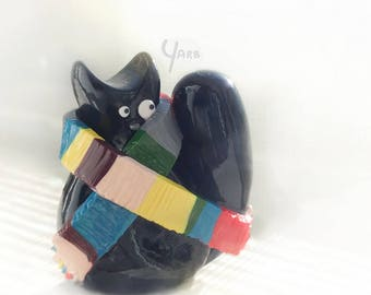 4th Doctor Derpy Cat Magnet
