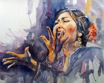 Flamenco 'pain'