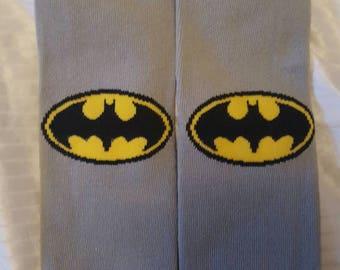 Batman baby leg warmers