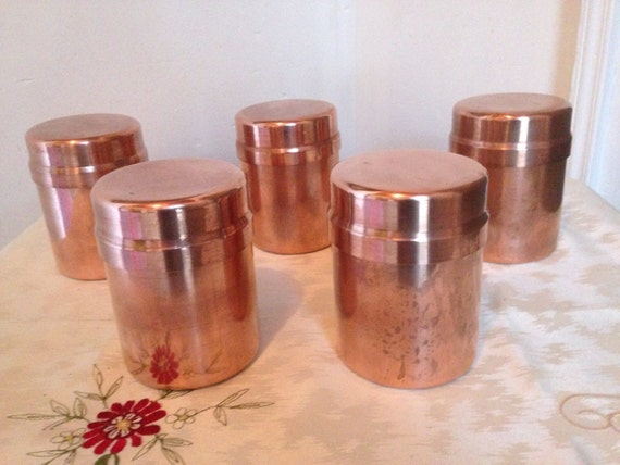 Canisters Kitchen Canisters Copper Canisters French