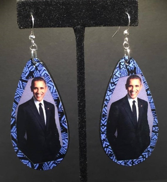 obama earrings