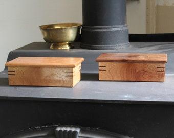 Spanish Cedar Simple Lift Lid Box