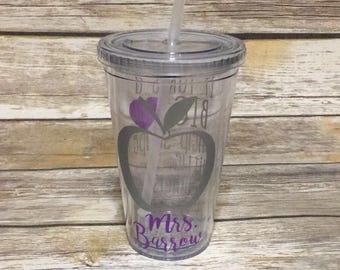 Teacher Tumbler Cup