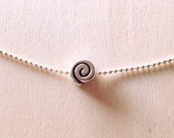 Wave Necklace • Minimal Necklace • Layered Necklace Boho • necklace • Surfer necklace