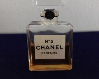Vintage Chanel No. 5 Perfume