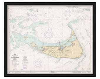 0354-Nantucket Island Chart 1971-Nantucket Sand