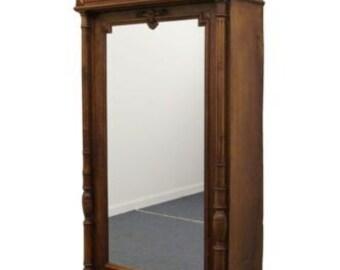 Renaissance Revival Antique 43″ Wardrobe / Cabinet