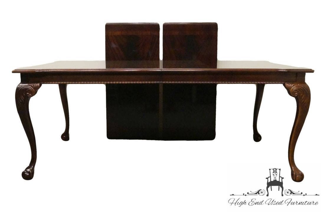 Thomasville Mahogany Chippendale Coffee Table Oak End