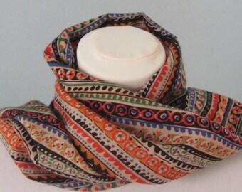 Liberty print veruna wool scarf