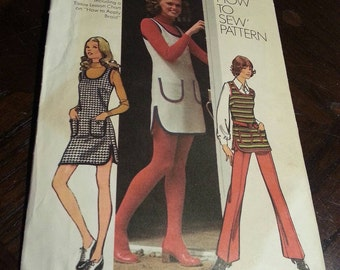 Vintage pattern simplicity women's clothing