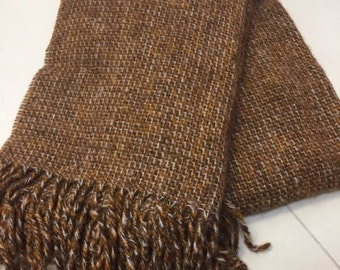 Hand weaved blanket (100% mohair)
