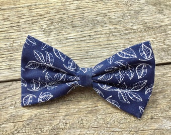 Dark Blue Bow