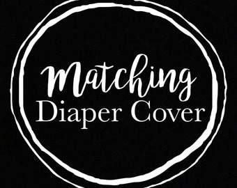 Diaper Cover for Matching Dress
