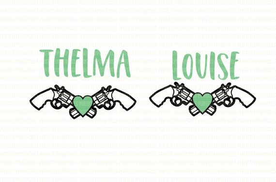 Thelma And Louise Printable Iron On Printable Heat Transfer